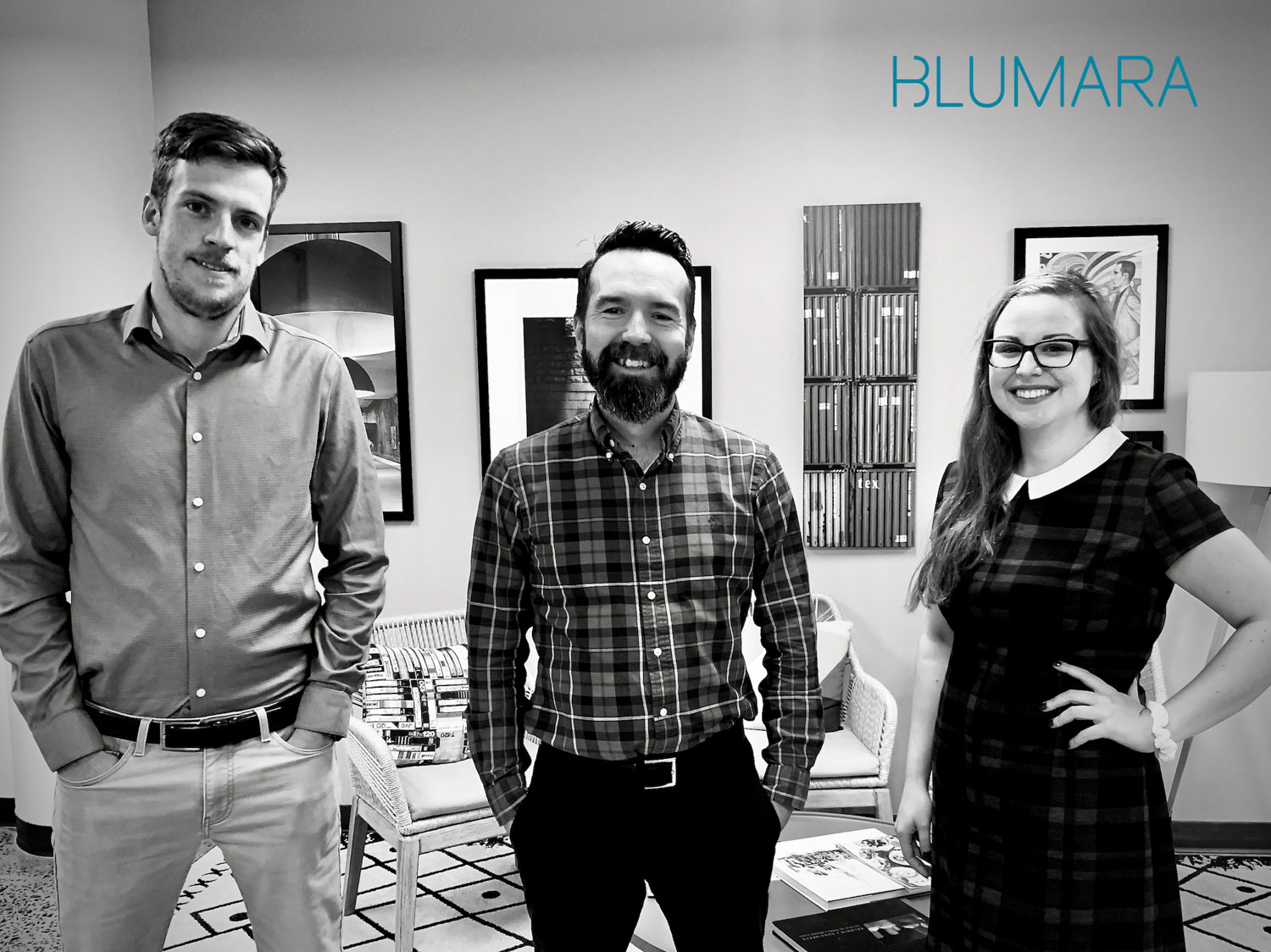 three people from Blumara