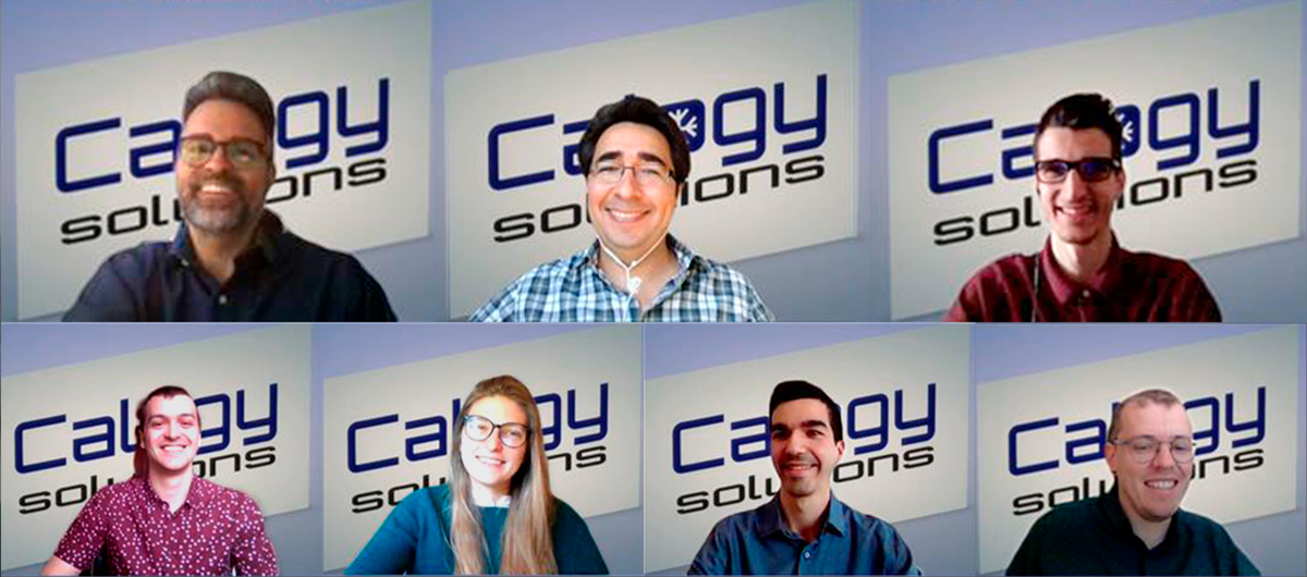 group of people from Calogy Solutions' team