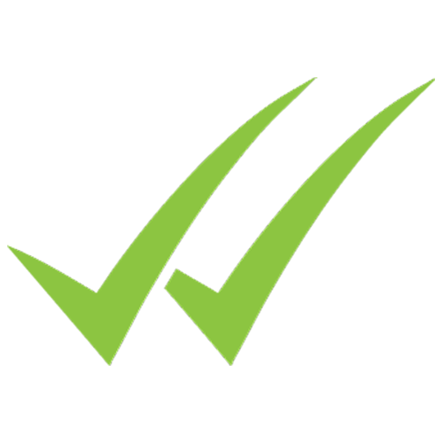 icon of two green checkmarks