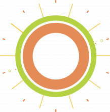 cartoon of a sun